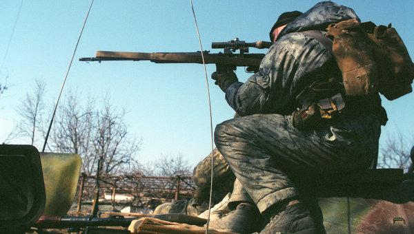 Внутренние войска МВД России. Архивное фото