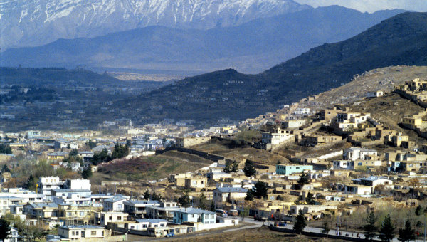 Вид города Кабул. Архивное фото