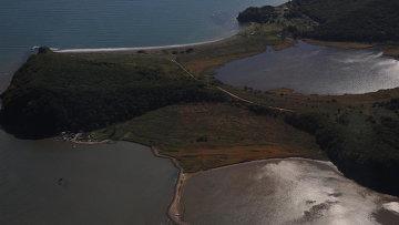 Вид на бухту Муравьиная в Приморье. Архивное фото