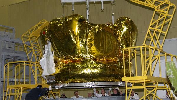 Двигательная установка межпланетной станции Фобос-Грунт. Архив
