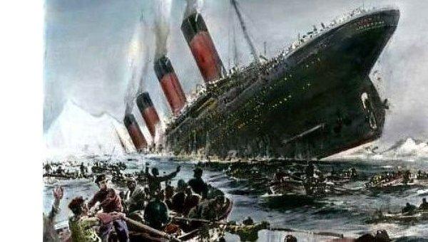 Титаник в искусстве