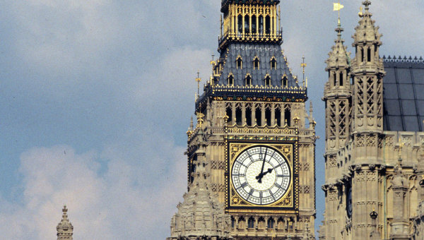 Вестминстерский дворец, где проходят заседания Британского парламента
