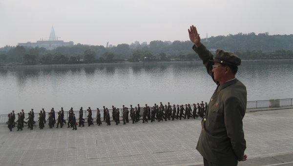 Военнослужащие Северной Кореи. Архив