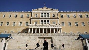 Здание Парламента Греции в Афинах. Архивное фото