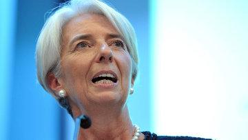 Директор-распорядитель Международного валютного фонда Кристин Лагард, архивное фото