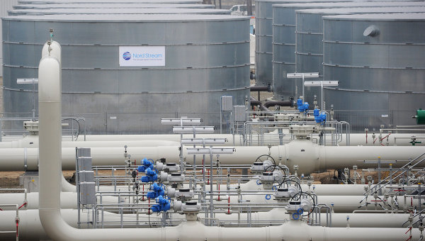 Открытие газопровода Северный поток в Германии