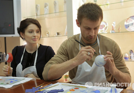 Сергей Семак и его жена Анна
