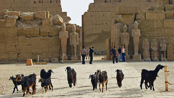 Храмовый ансамбль в Луксоре