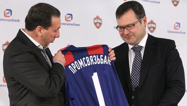 Евгений Гинер и Артем Констандян (слева направо)