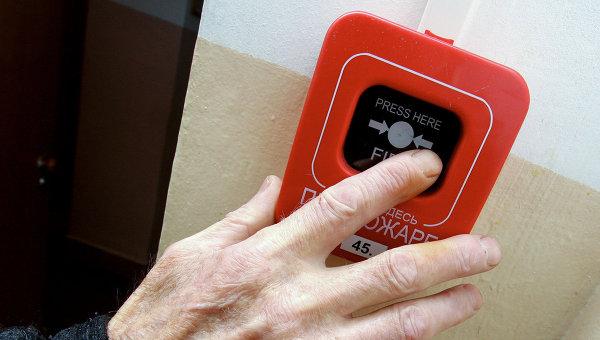 Пожарная сигнализация. Архивное фото