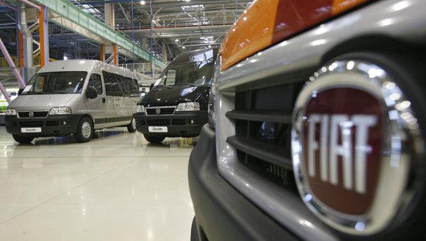 Завод Соллерс-Елабуга по производству автомобилей Fiat Ducato. Архивное фото