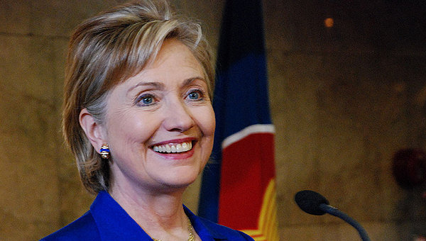 Хилари Клинтон. Архивное фото