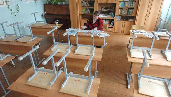 Школьный класс. Архивное фото
