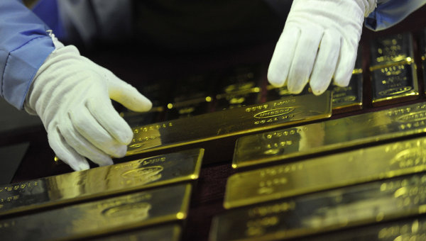 Мировой спрос на золото в III квартале вырос до двухлетнего максимума
