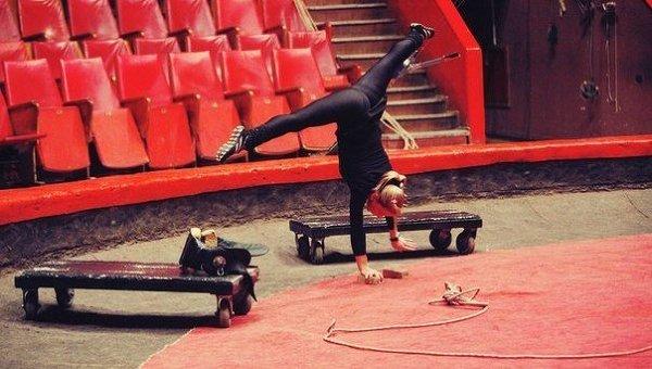 Жизнь цирка. Архивное фото