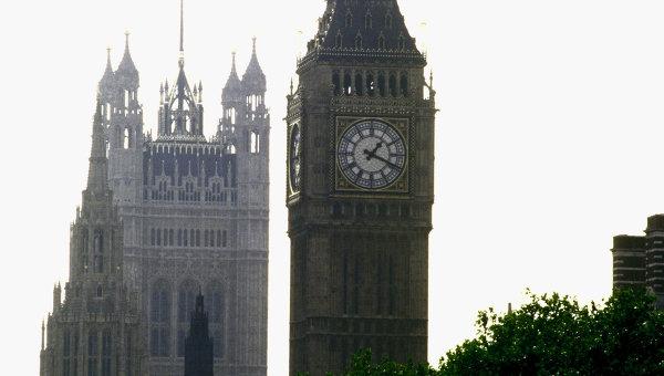 Лондон. Биг Бен. Архивное фото