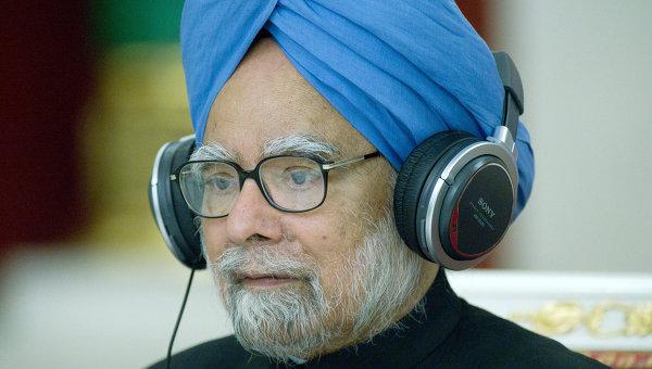 Премьер-министр Индии Манмохан Сингх. Архивное фото