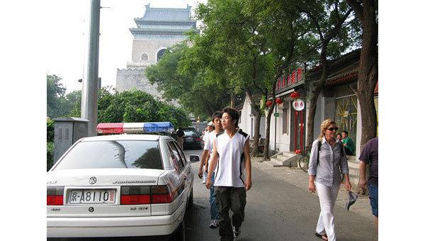 Полиция Китая. Архивное фото.