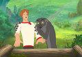 Кадр из мультфильма «Иван Царевич и Серый Волк»