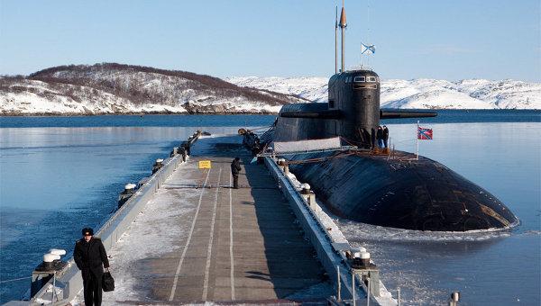 Атомная подводная лодка проекта 667БДРМ «Дельфин»
