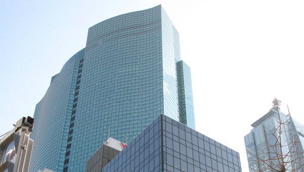 Современное здание в Токио