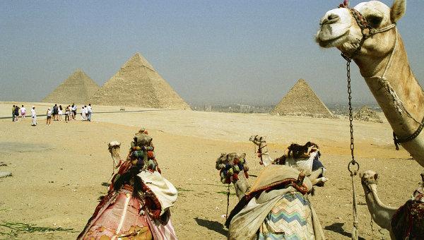 Египтяне намерены изгнать от пирамид в Гизе торговцев и верблюдов