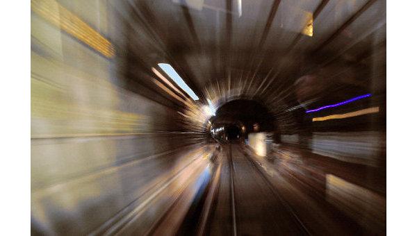 Тоннель метро. Архив