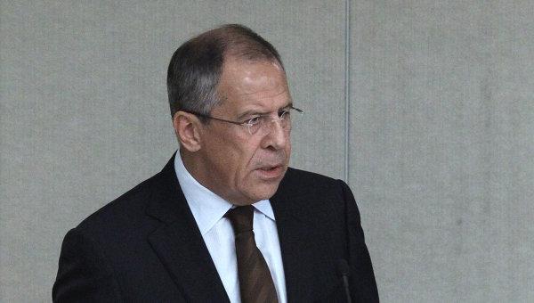 Министр иностранных дел РФ Сергей Лавров. Архив.