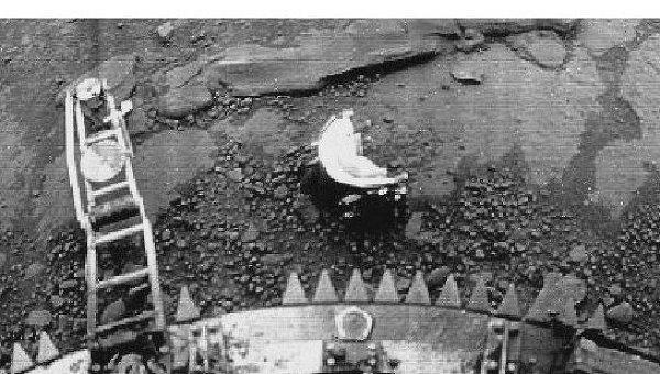 Панорама с посадочного модуля Венеры-13