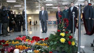 Годовщина взрыва в аэропорту Домодедово. Архив