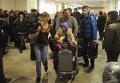 Прилет российских туристов - клиентов Ланта-тур в Москву