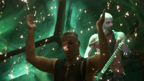 Концерт группы Rammstein в Москве. Архивное фото