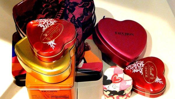 День святого Валентина в Харродс в Лондоне