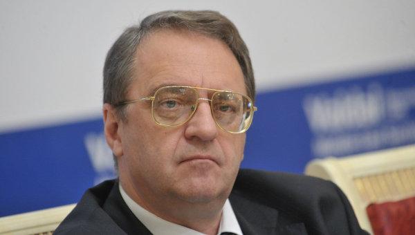 Замглавы МИД РФ Михаил Богданов