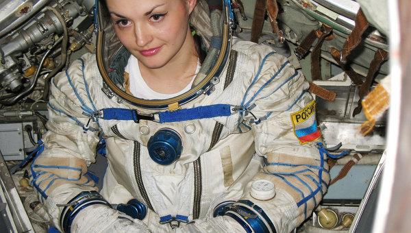 Елена Серова, единственная женщина-космонавт в нынешнем отряде космонавтов Роскосмоса. Архивное фото