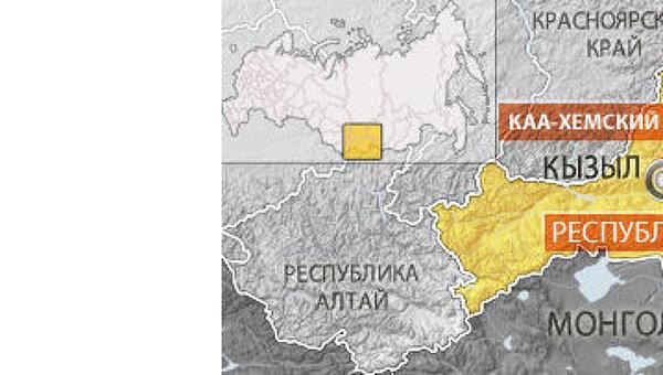 Землетрясение магнитудой 4,3 произошло в Туве
