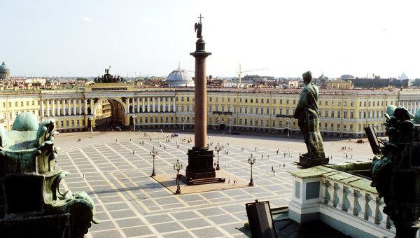 Дворцовая площадь в Санкт-Петербурге