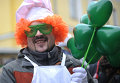 Парад в честь Дня Святого Патрика в Москве