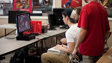Компьютерные игры, архивное фото