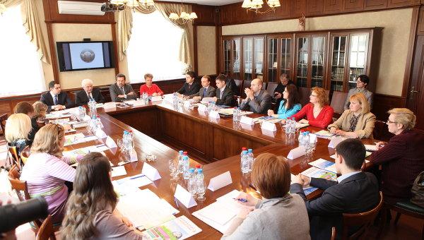 Круглый стол в Российском авторском обществе (РАО)