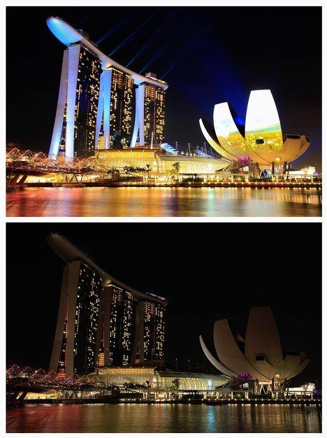 Акция Час Земли в Сингапуре
