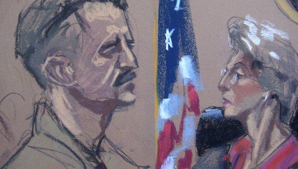 Вынесение приговора Виктору Буту. Скетч из зала суда