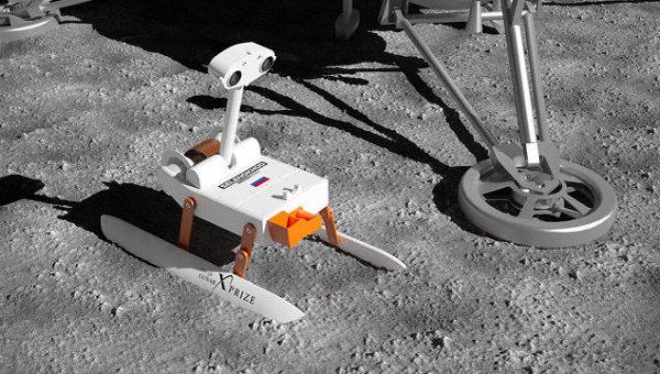 Российский лунный робот Селеноход