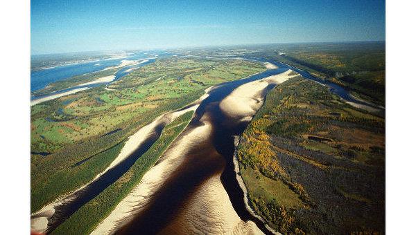 Основные реки России являются сильно загрязненными исследование  РИА НовостиРека Лена Архив Река Лена Архив