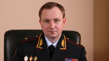 Генерал-майор полиции Сугробов. Архивное фото