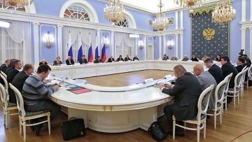 Встреча президента РФ с президентским Советом по правам человека (СПЧ). Архив