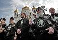 Акция у храма Христа Спасителя в Москве