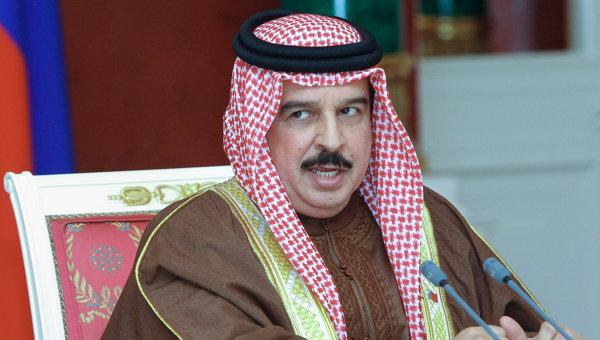 Король Бахрейна Хамад Бен Иса Аль Халифа. Архивное фото