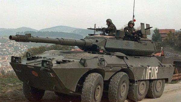 Итальянский танк «Кентавр» (Centauro)