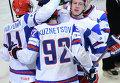 Хоккеисты сборной России одержали седьмую подряд победу на ЧМ